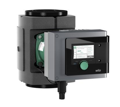 Wilo-Stratos MAXO elettropompa smart ad alta efficienza