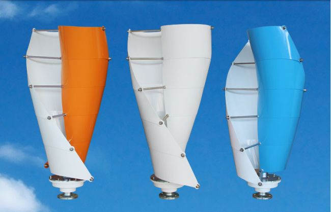 Turbina eolica e prezioso oggetto di design