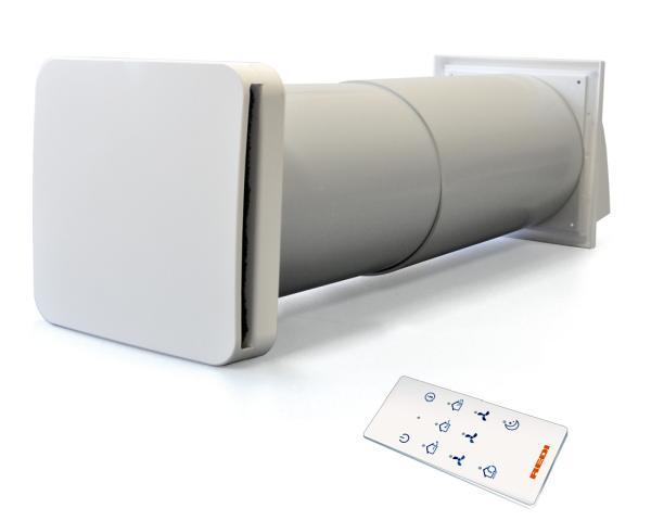RECUPERO HC – Ventilatore con scambiatore di calore
