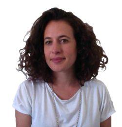 L'architetto Valentina Sistri, direttore dei lavori del cantiere di Nanterre