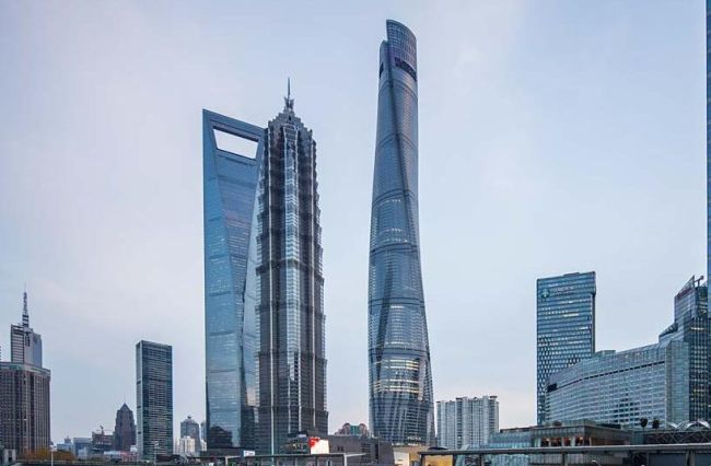 Shanghai Tower, il più alto grattacielo della Cina