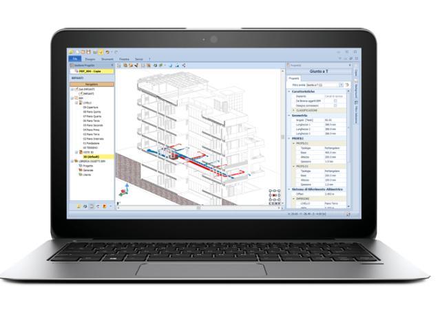 Edificius-MEP per una visione d'insieme del sistema edificio impianti