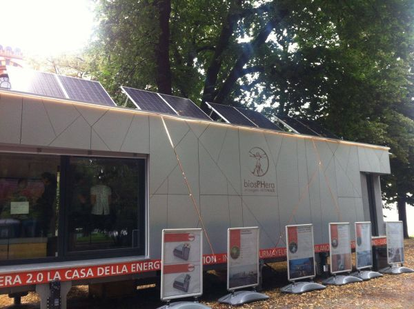 A Genova il modulo abitativo sperimentale ed energeticamente autonomo