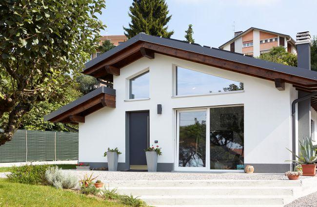 Una casa in bioedilizia altamente tecnologica