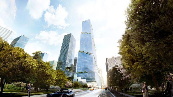 The spiral, La torre green di New York per lavorare immersi nella natura