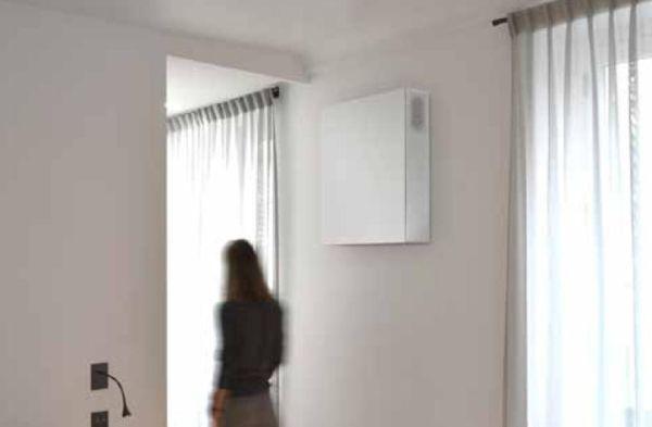 Comfort ed efficienza con l'unità di ventilazione decentralizzata D60