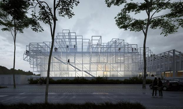 Un innovativo spazio culturale ad alta efficienza energetica
