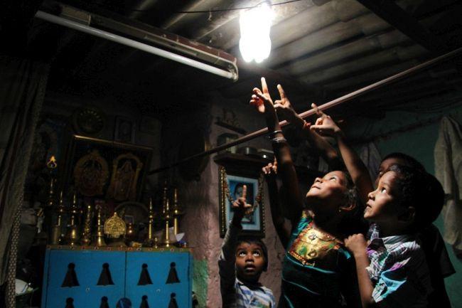 Illuminazione ecosostenibile per le popolazioni povere