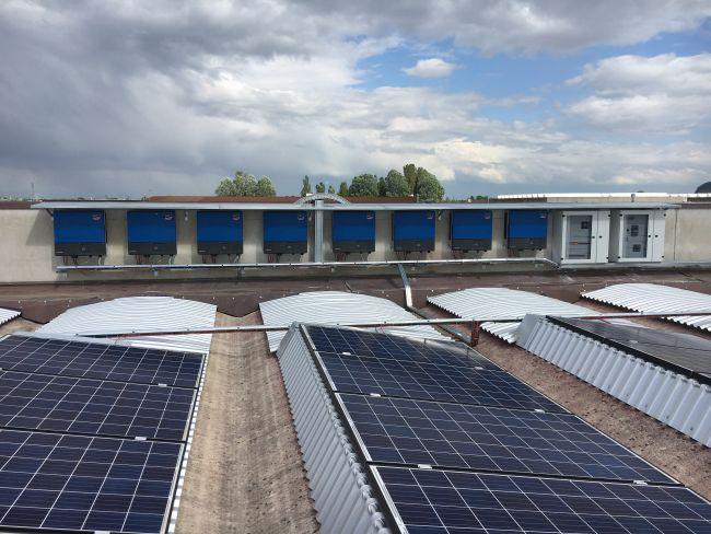 Risparmio energetico e meno emissioni di CO2 grazie all'impianto fotovoltaico