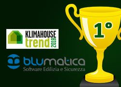Klimahouse TREND 2018: Blumatica sul podio per la categoria Timely!