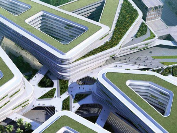Campus universitario a Singapore eco-sostenibile orientato alla bioedilizia