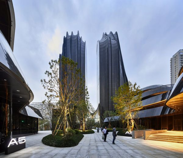 Chaoyang Park Plaza: ispirazioni dal passato per costruire il futuro