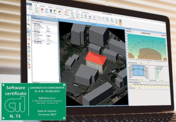 Le ultime novità di EC700, software per il calcolo prestazioni energetiche degli edifici