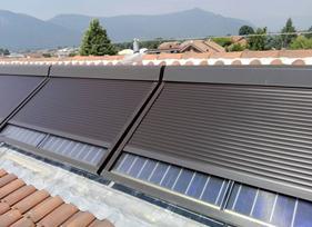 Protezione automatica pannelli solari termici ad alta efficienza
