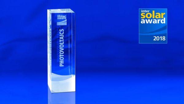 Intersolar Award premia le soluzioni innovative e digitali