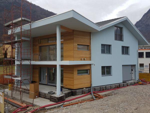 Isolamento ventilato dell'involucro per una villetta ad alta efficienza energetica