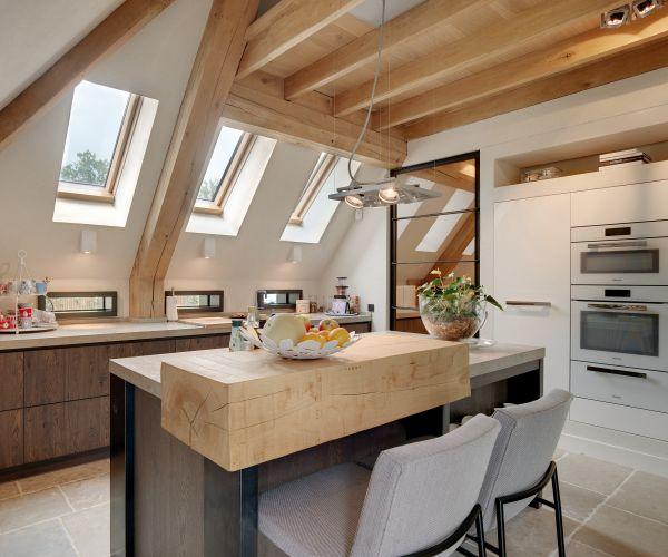 Comfort e design in mansarda