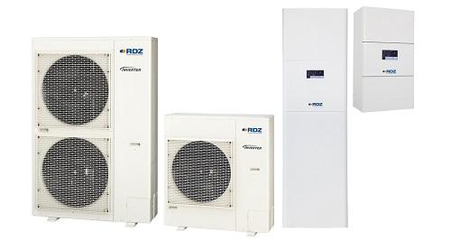 Unità splittate PDC – Pompe di calore ad alta efficienza
