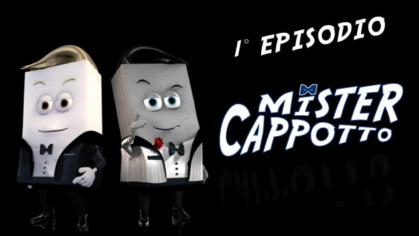 Su questi schermi Mister Cappotto, la miniserie animata sui sistemi in EPS