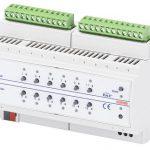 KNX: Attuatore combinato  6-12 canali