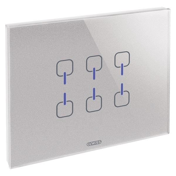 CHORUS ICE: placche touch per il comando di sistemi domotici