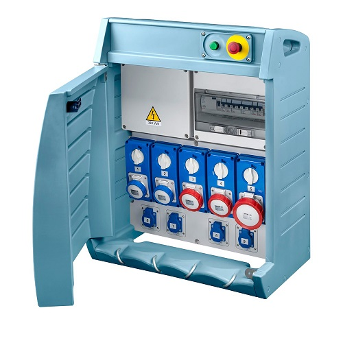 SERIE 68 Q-BOX: Quadri per distribuzione e prelievo di energia elettrica