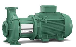 Elettropompe a motore ventilato monoblocco standard
