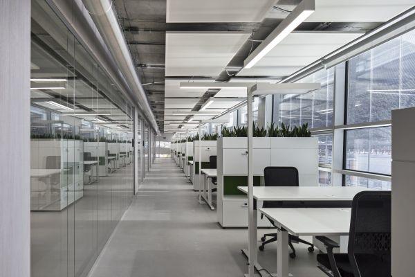 Riscaldamento e raffrescamento radiante per il NOI Techpark di Bolzano