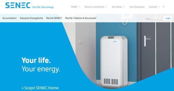 Nuovo sito Senec, utile strumento per gli operatori