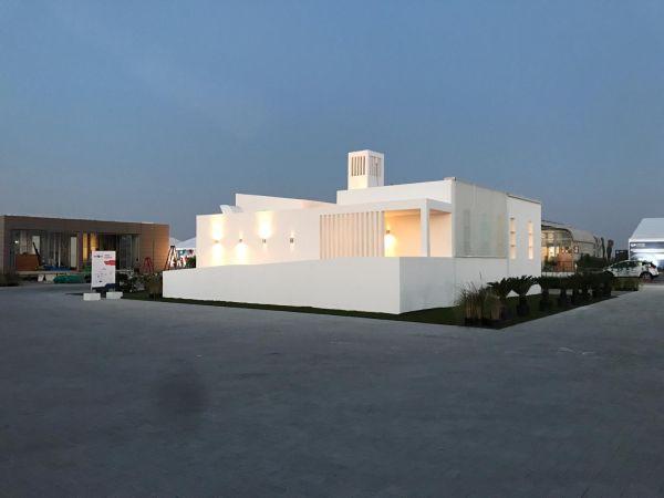 La casa del futuro efficiente e alimentata da rinnovabili de La Sapienza a Dubai