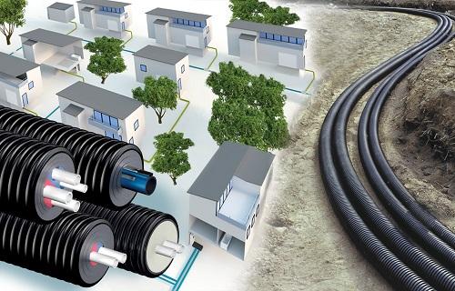 UPONOR ECOFLEX: sistema di tubazioni per reti di  distribuzione