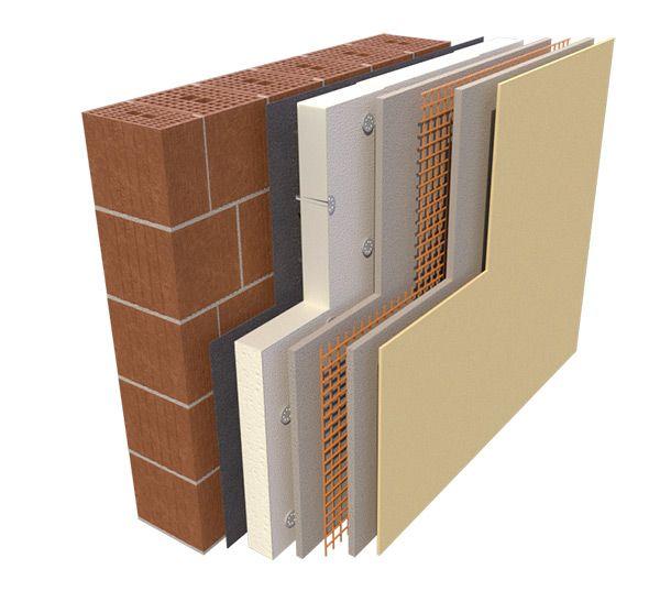 Pannelli in schiuma polyiso rigida per l'isolamento delle pareti