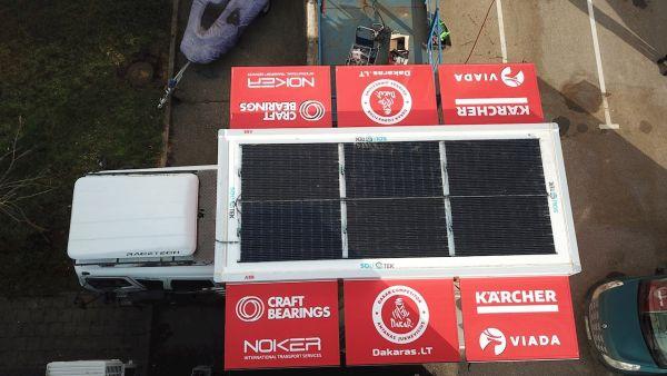 Energia solare per il rally grazie ad ABB