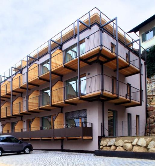 Un residence super efficiente grazie anche a Hoval
