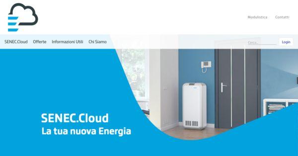 SENEC.Cloud: da oggi c'è anche il sito dedicato