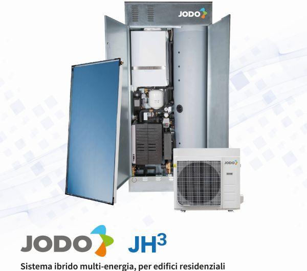 Sistema ibrido multi energia per il residenziale