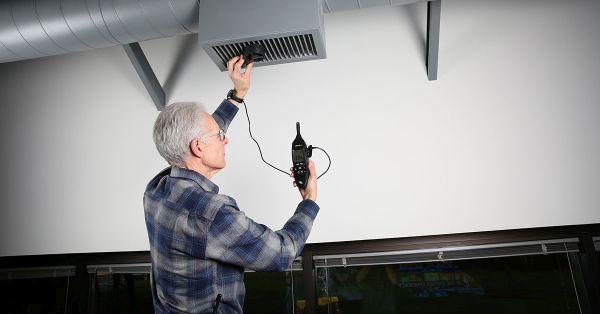 Misuratore ambientale per impianti di climatizzazione