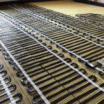 Riscaldamento elettrico radiante in fibra di carbonio