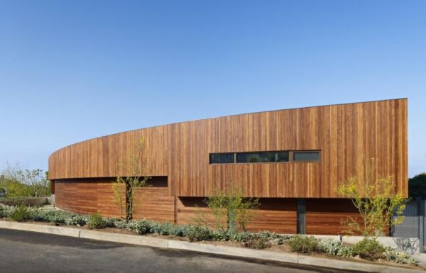 Residence Ziering: la casa che sfrutta la brezza marina per rinfrescare gli interni