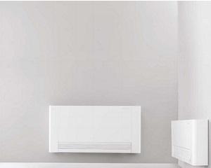 AIRLEAF RS: Ventilconvettore con mobile a vista ed effetto radiante frontale