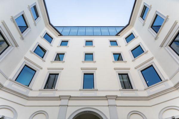 La storicità dell'edificio Principe Amedeo 5 diventa innovazione creativa