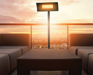 LAMIR/HT: Lampada a infrarosso per esterni