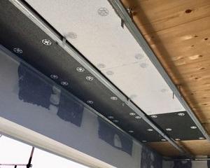 Riscaldamento radiante bifilare con applicazione a parete e a soffitto