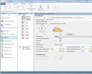 EC713: Software solare fotovoltaico