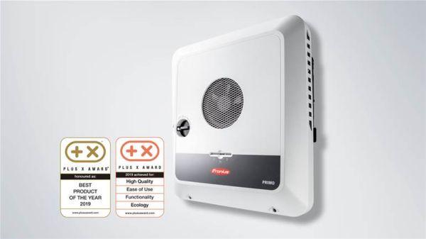 Inverter Fronius Primo GEN24 Plus eletto prodotto dell'anno