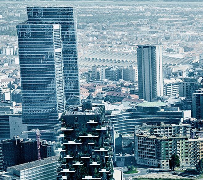 La mappa della Milano green