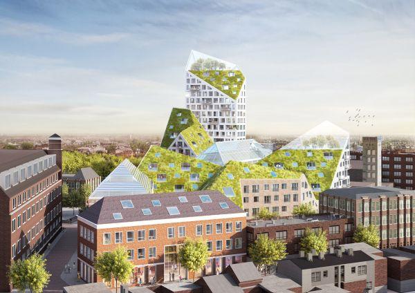 Le residenze sostenibili ad Eindhoven