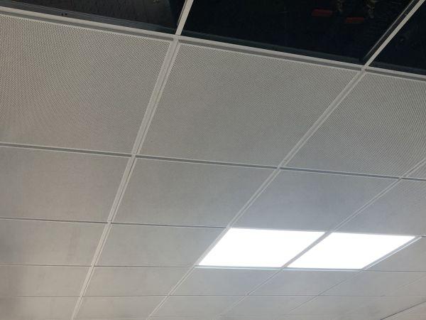 Sistema radiante a soffitto ispezionabile