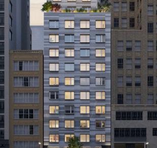 211W29: passive house di 24 piani nel cuore di Manhattan