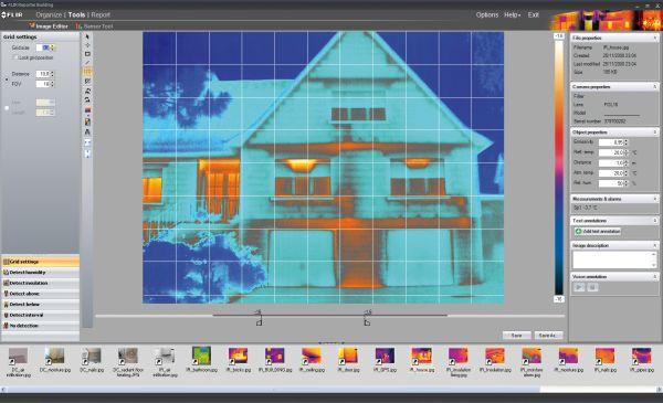 Nuovo software FLIR per l'analisi delle costruzioni e per il risparmio energetico